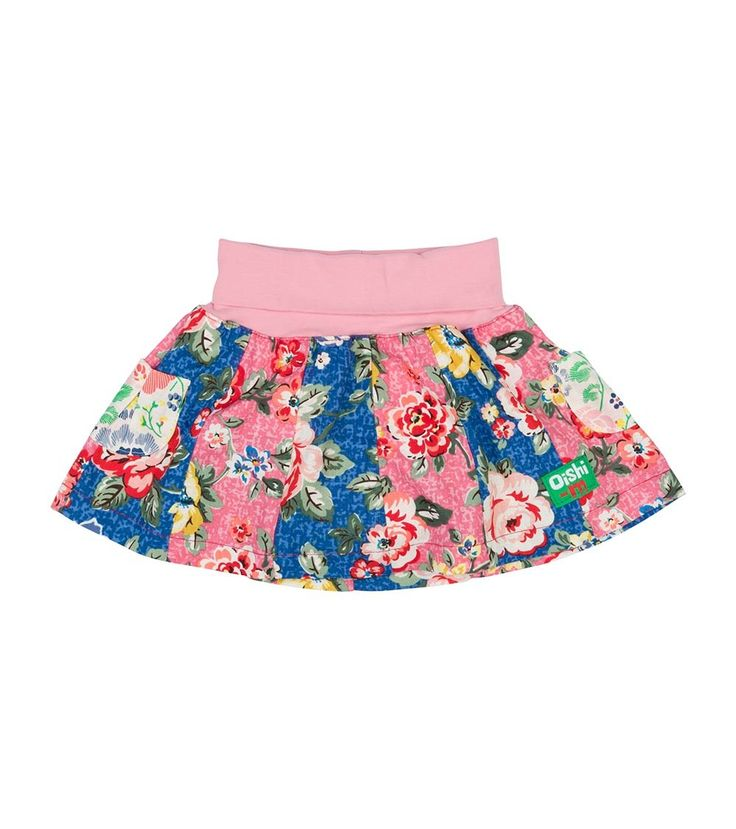 Bonnie 12 Panel Skirt, Oishi-m Clothing for kids, Spring 2016, www.oishi-m.com