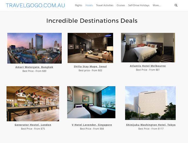TravelGoGo.com.au: Check Out Our Worldwide Hotel Specials, Easy to bo...