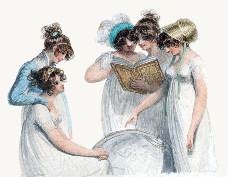 Regency ladies.