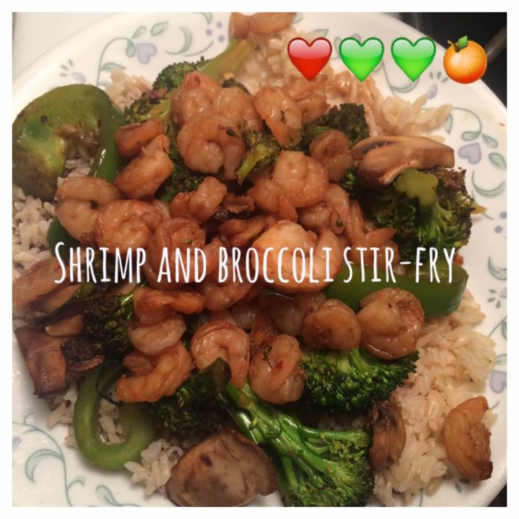 Di's Food Diary 21 Day Fix Approved Dinner Recipes = Shrimp & Broccoli Stir-Fry