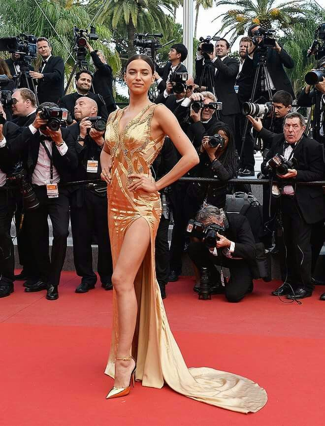 Golden gown.So pretty.