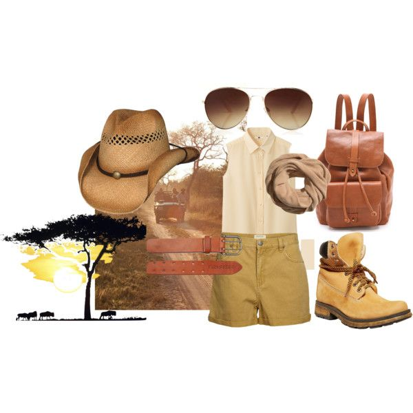 """Look da Safari Tour"" by sara-biondi on Polyvore"