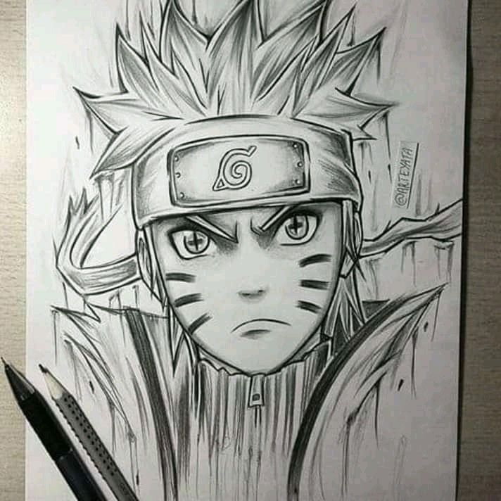 Pin By Amaraa Nymaa On Easy Drawings With Images Naruto Sketch