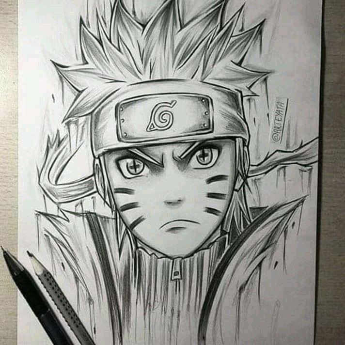 Naruto Modo Rikudo Naruto Sketch Naruto Drawings Anime Naruto