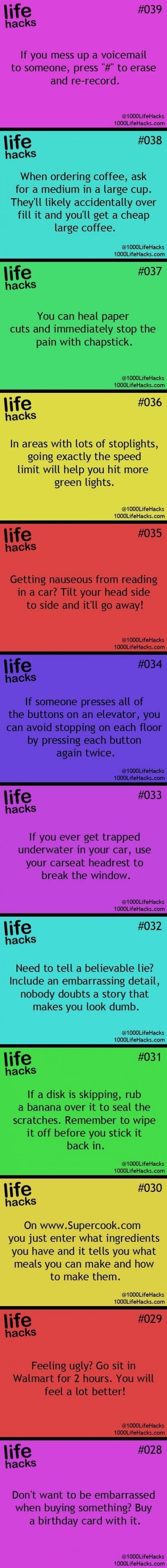 Random Life Facts