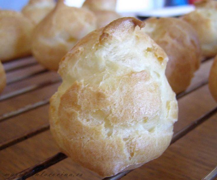 Pasta choux para profiteroles