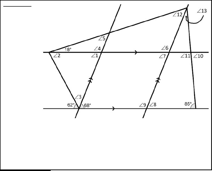 Drawing Parallel Lines With Triangles : Images about geometry parallel lines transversals