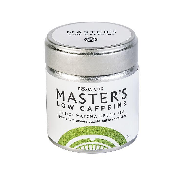 Master's Low Caffeine Matcha Tin, 30g/1oz - DōMatcha® | DōMatcha - Buy Matcha Green Tea & Organic Matcha Powder