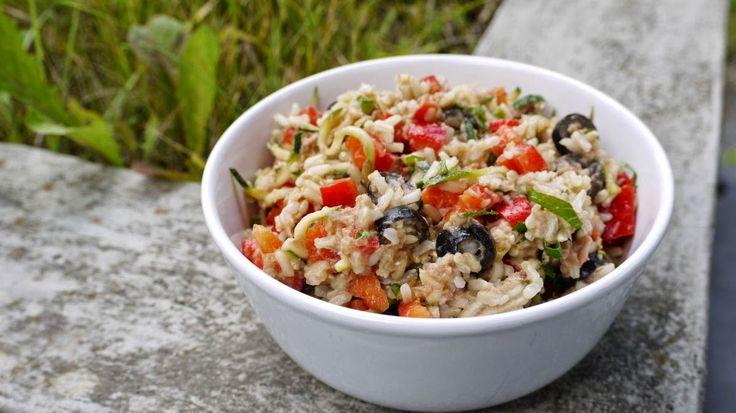 Polskie South Beach: Sałatka ryżowa z tuńczykiem