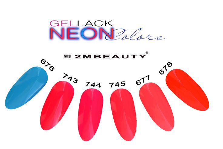 Gel lack new colors for nails