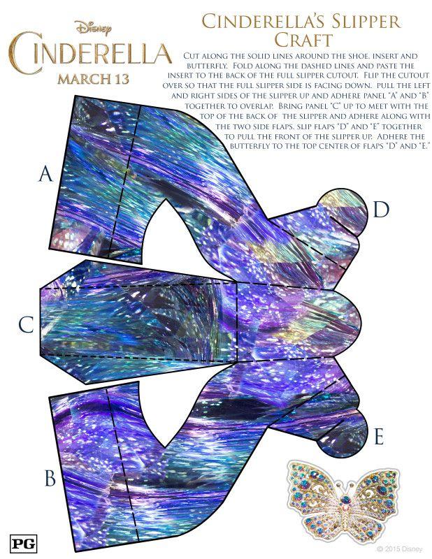 Cinderella Craft Activity sheets