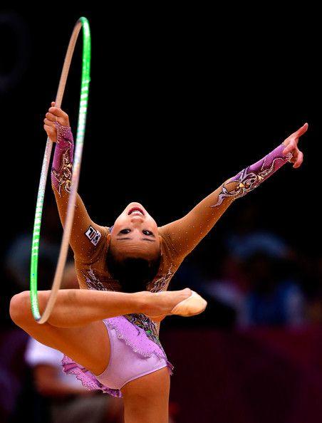 Yeon Jae Son in Olympics Day 15 - Gymnastics - Rhythmic