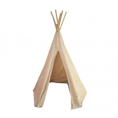 http://static.smallable.com/238163-thickbox/petitcollin-teepee.jpg Petitcollin teepee Vilac Back to the indian period with this Vilac ecru teepee! Children will love using it inside or outside. A feather in the head, a bow with arrows and let's start the indian adventure! From 4 to 9 years. Dimensions : Hauteur 170 cm Composition : Toile denim