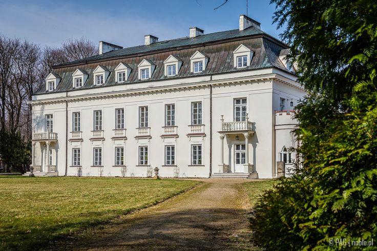 Krasinskich palace in Radziejowice, Poland