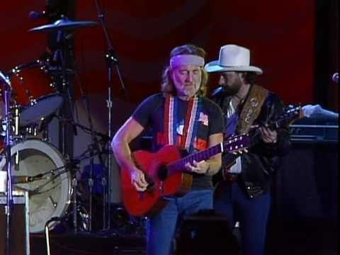Willie Nelson & Johnny Rodriguez - Forgiving You Was Easy (Live at Farm Aid 1985)
