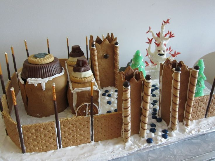 Gingerbread Winterfell......this is awesome!