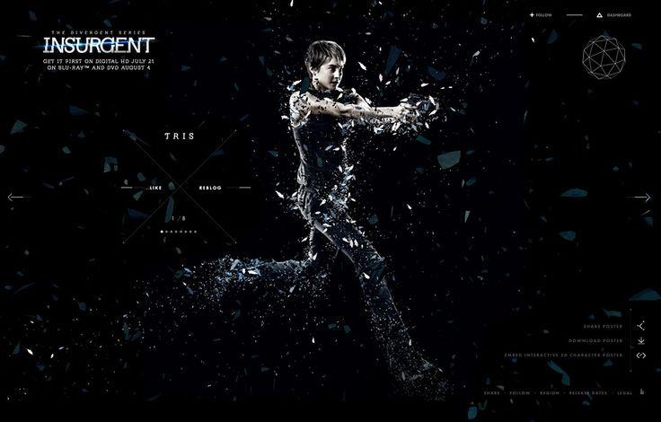 FWA winner | The Divergent Series: Insurgent