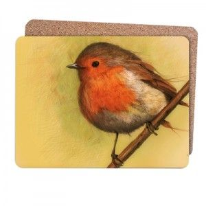 bird song - Placemates Dimensions: 250mm x 190mm. Pack of 4, Cork backed, stain resistant and wipe clean. http://www.bespo.co.uk/zdraleaioana/store/products/bird-song-3/