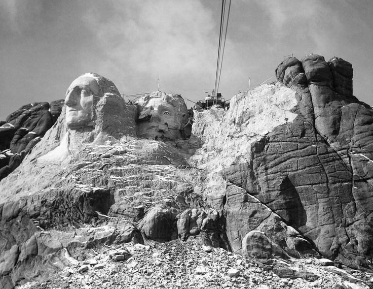 90 best images about carving mount rushmore on pinterest for Mount rushmore history facts