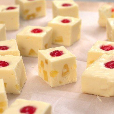 We've played around before with pineapple upside-down cake, and we've indulged in every type of fudge, but never before have we put them together— until NOW!