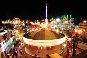 La Ciudad de Aguascalientes es conocida por su internacional Feria San Marcos.