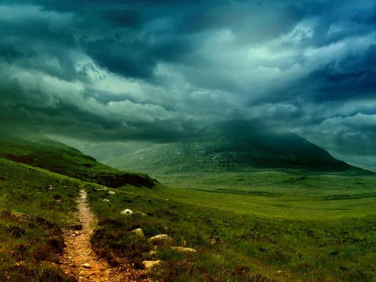 Scottish Mountain Storm