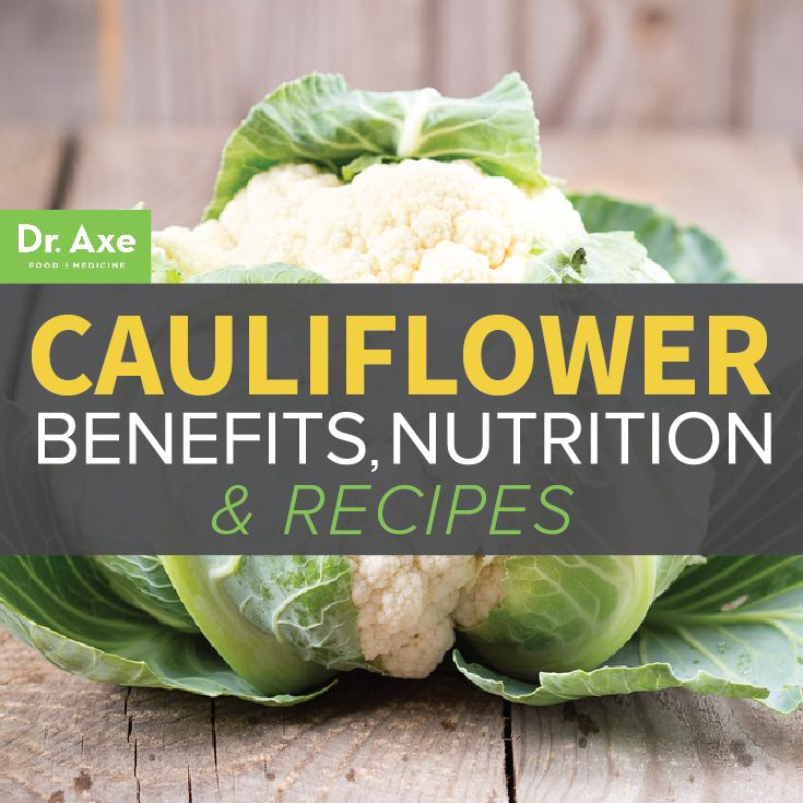 Cauliflower: Benefits, Nutrition  Cauliflower is a little-known miracle food that heals your gut, balances hormones, aids in weight loss, and fights cancer! Find out all about cauliflower nutrition, benefits and get some free recipes!