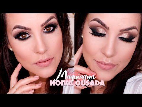 Bruna Malheiros Makeup » Maquiagem Noiva Ousada