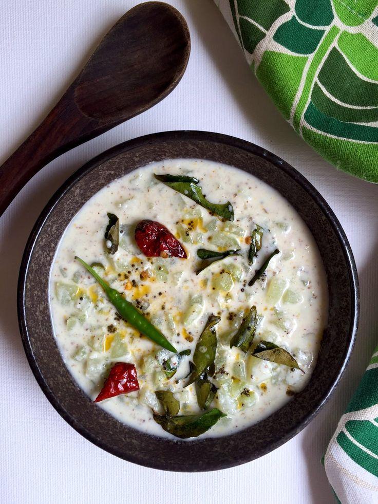 Recipe for Cucumber Kichadi | Onam Sadhya Recipes | Kerala style cucumber raita, totally different from your regular Cucumber Raita!