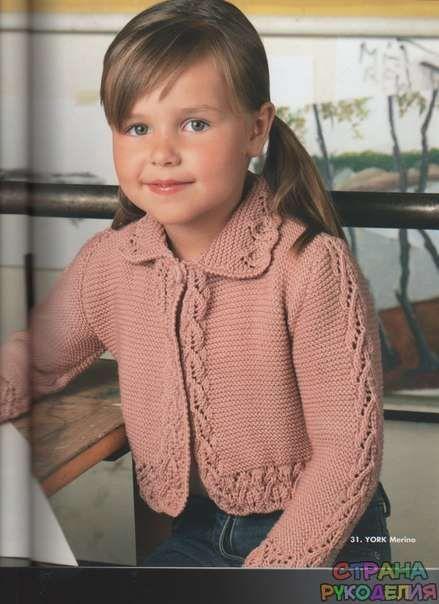 Вязаные свитера и пуловеры для детей - Вязание для детей - Рукоделие - Страна рукоделия
