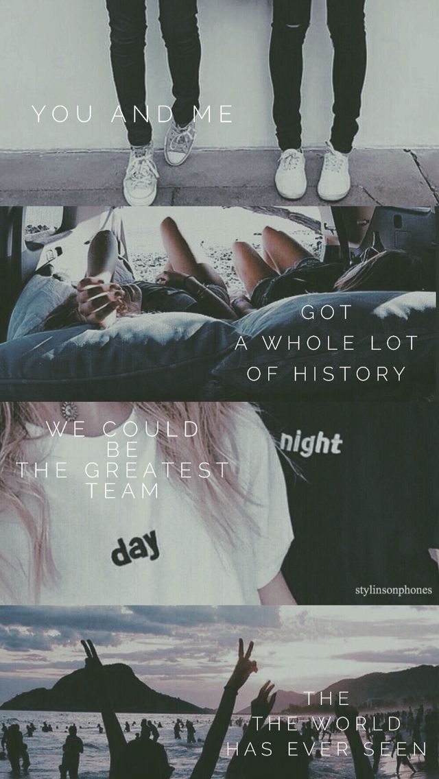 History Lyrical Lockscreen — ctto: @stylinsonphones