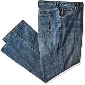 Lee Men's Big & Tall Premium Select Custom-Fit Relaxed Straight-Leg Jean