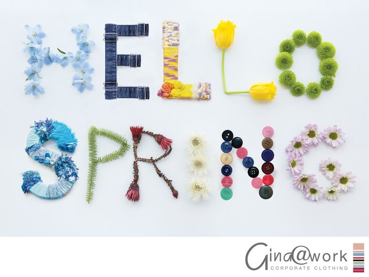 Happy Spring Day!  Spring breathes new life into the world around us! Let TODAY bring a second round of energy to the last stretch of the year.  WE DO TODAY with a smile and CARE. www.gina.co.za