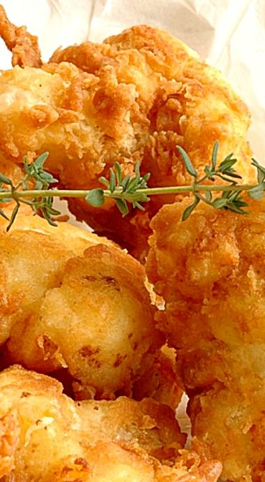 The Colonel's French Fried Cauliflower - people who wouldn't touch cauliflower with a 10 foot fork gobble this up like a snack...it's just that good! ❊