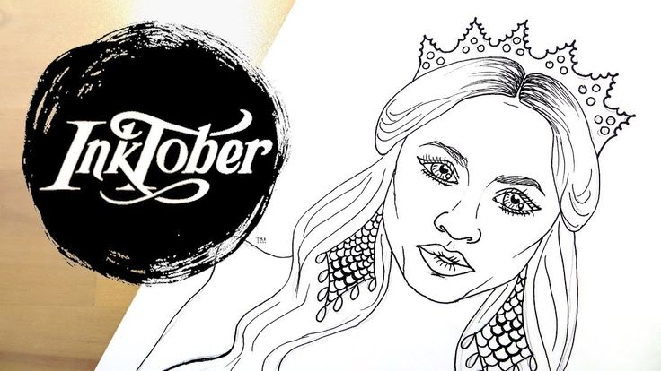 Making Free Coloring Pages to Print || Inktober 2017 Speed Drawing. I'm making coloring pages during Inktober! This is my first Inktober 2017 speed drawing video and I'm making four, free coloring pages to print out.