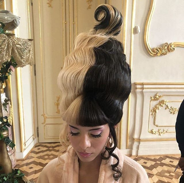 Melaniemartinez On Behind The Scenes Of Her Movie K 12 From Strawberry Shortcake Visuals Hair Styled By Melanie Martinez Melanie Crybaby Melanie Martinez