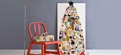 Αν βαρεθήκατε το κλασικό χριστουγεννιάτικο δέντρο, οι παρακάτω δημιουργικές, οικονομικές και άκρως εναλλακτικές προτάσεις θα σας ενθουσιάσουν!