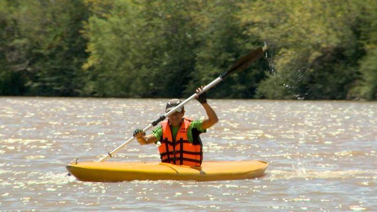 Kayak en Córdoba | Más en www.facebook.com/viajaportupais #VeranoEnArgentina