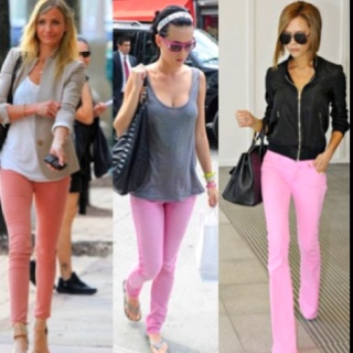 Pink jeans outfit ideas | school clothes. . | Pinterest | Pink Jeans Pink Jeans Outfit and Pink ...