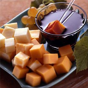 Wine Fondue With Cheese Recipe from Land OLakes