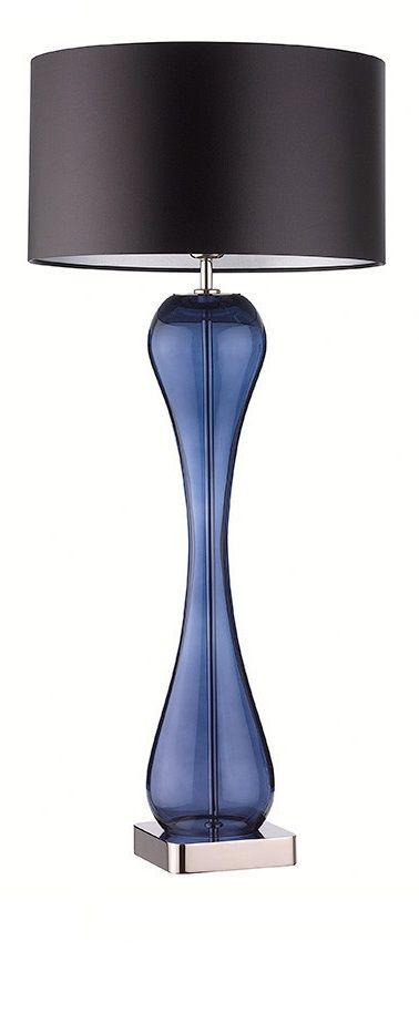 InStyle Decor.com Blue Table Lamps, Designer Table Lamps, Modern Table Lamps