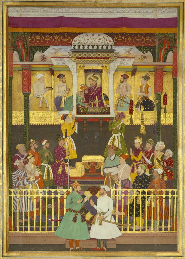 The Arrival of Prince Aurangzeb at the court at Lahore (9 January 1640)
