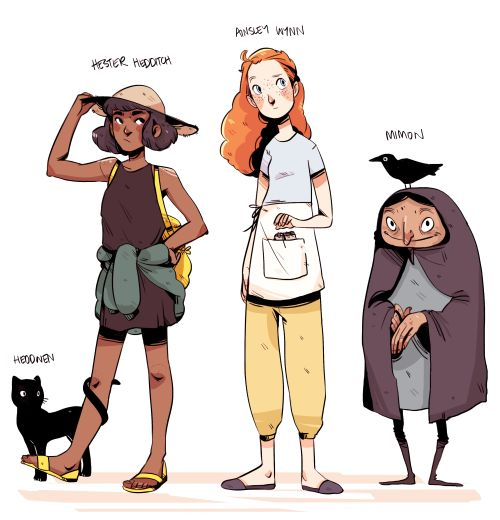 Character Design Profile : I m married to the mice king art pinterest
