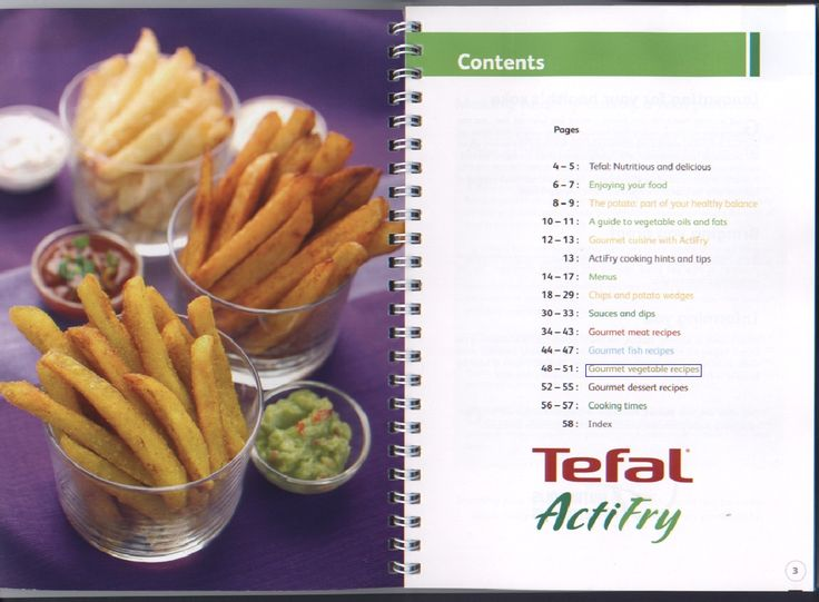 Tefal ActiFry 30 Recipes | Scribd