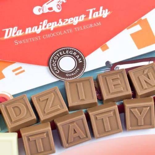 Dziś Dzień Ojca :) Z tej okazji życzymy wszystkim Tatom, wielu słodkich chwil i spełnienie wszystkich, nie tylko czekoladowych marzeń!
