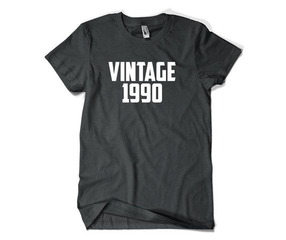 26th Birthday Gift-Vintage 1990-26th Birthday by SuperCoolTShirts