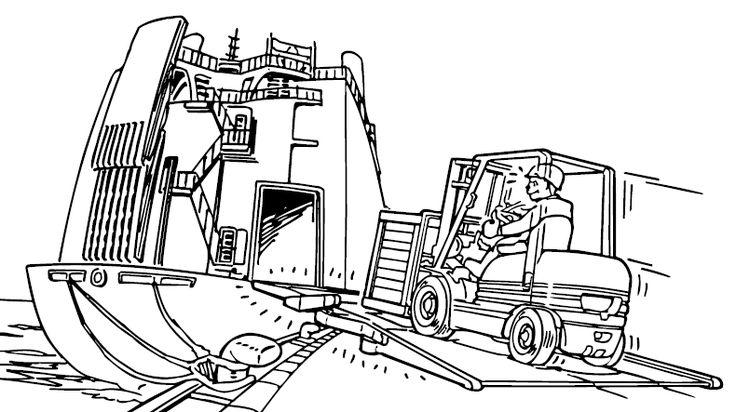 7 best forklift safety images on pinterest