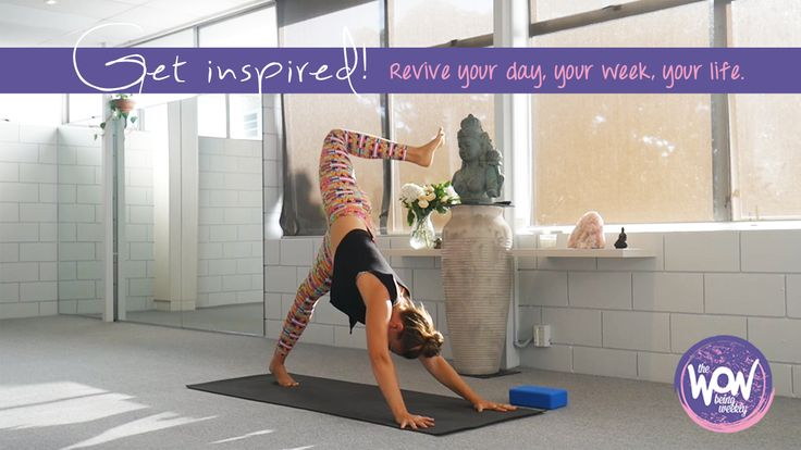 Week 27: Get Inspired! Revive your day, your week, your life with this all levels 30min flow to clear out stagnation, stress and that blah kinda feeling. We start with a pacey flow to get everything moving and then settle into a grounding hip routine to refresh the hips.