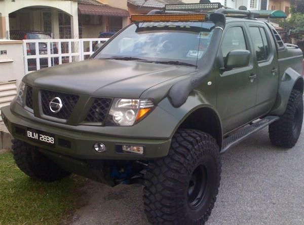 Nissan Navara Modified Nissan Frontier Xterra And
