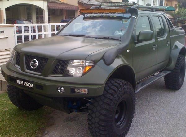 Nissan Navara Modified Nissan Frontier Xterra And